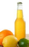 Bebida y frutas Imagenes de archivo