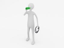 Bebida y mecanismo impulsor Imágenes de archivo libres de regalías
