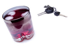 Bebida y mecanismo impulsor Fotos de archivo libres de regalías