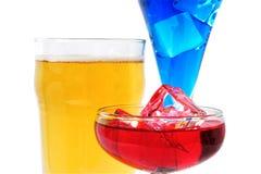 Bebidas Foto de Stock