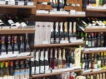 Bebidas alcoólicas Fotografia de Stock