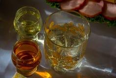Bebidas alcoólicas Fotos de Stock Royalty Free