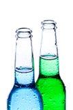 Bebidas alcoólicas isoladas no branco Fotos de Stock