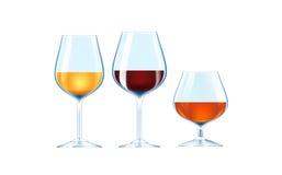 Bebidas alcohólicas Imagen de archivo