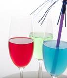 Bebidas coloridas Foto de Stock