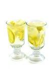 Bebidas con sabor a fruta imagen de archivo