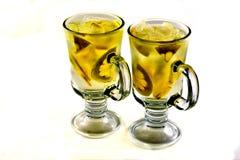 Bebidas con sabor a fruta imagenes de archivo