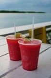 Bebidas congeladas Foto de Stock