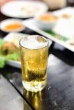 Bebidas da cerveja de esboço Imagem de Stock