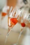 Bebidas da morango fotos de stock royalty free