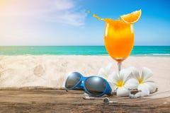 Bebidas das férias de verão Imagem de Stock Royalty Free