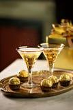 Bebidas de la celebración Foto de archivo libre de regalías