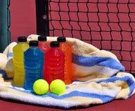 Bebidas de la energía de los deportes Imágenes de archivo libres de regalías