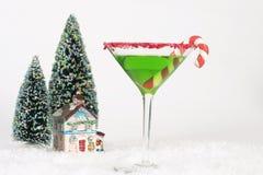 Bebidas de la Navidad Fotografía de archivo