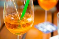 Bebidas de la noche de verano Imágenes de archivo libres de regalías