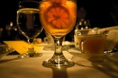 Bebidas de la suposición Foto de archivo libre de regalías