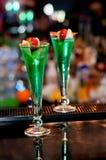 Bebidas de la suposición Imagen de archivo libre de regalías