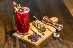 Bebidas de los cócteles del mundo Fotos de archivo libres de regalías