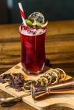 Bebidas de los cócteles del mundo Fotografía de archivo