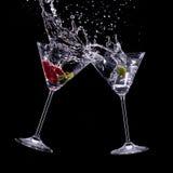 Bebidas de Martini Foto de Stock Royalty Free