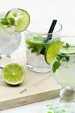 Bebidas de Mojito fotos de archivo