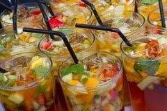 Bebidas de Pimms Fotografia de Stock Royalty Free
