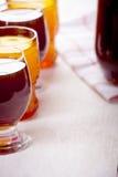 Bebidas de Ramadan Carob, hibiscus, e de Qamar Eldin Imagem de Stock