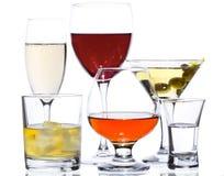 Bebidas del alcohol fotos de archivo