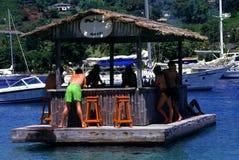 Bebidas del barco Foto de archivo libre de regalías