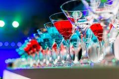 Bebidas del cóctel Imagen de archivo