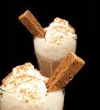 Bebidas del chocolate Imagen de archivo