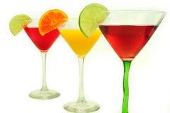 Bebidas del coctel Fotografía de archivo libre de regalías