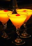 Bebidas del coctel del Mimosa   Imagen de archivo libre de regalías