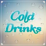 Bebidas del frío libre illustration