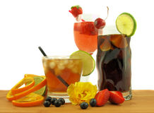 Bebidas del partido foto de archivo libre de regalías