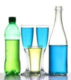 Bebidas del partido Foto de archivo