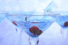 Bebidas del partido del Año Nuevo Imágenes de archivo libres de regalías