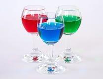 Bebidas del RGB imagen de archivo libre de regalías