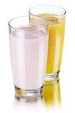 Bebidas del Smoothie Fotos de archivo libres de regalías