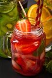 Bebidas del verano Fotografía de archivo
