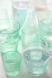 Bebidas del verde Imágenes de archivo libres de regalías