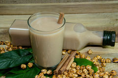 Bebidas deliciosas quentes a Boza Fotografia de Stock Royalty Free