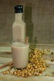 Bebidas deliciosas quentes a Boza Imagem de Stock Royalty Free