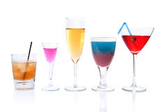 Bebidas do cocktail Foto de Stock
