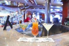 Bebidas do cocktail imagem de stock royalty free