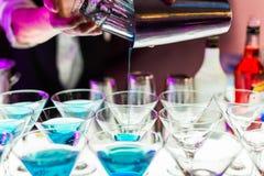 Bebidas do cocktail fotos de stock