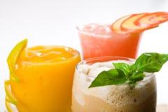 Bebidas do frio Foto de Stock