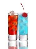 Bebidas do tiro fotografia de stock