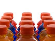Bebidas en botella fotos de archivo