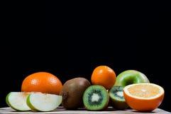 Bebidas espirituosas de la fruta, fruta Imagen de archivo